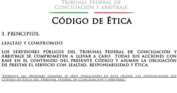 A la defensa de los trabajadores, Tribunal Federal de ...